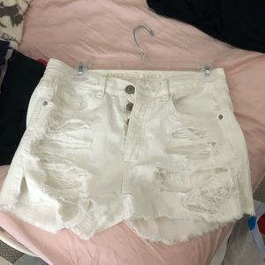 Ripped high waisted shorts from American Eagle